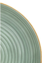 Textured porcelain plate - Dusky green - Home All | H&M GB 3