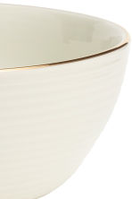 Bol de porcelana con relieve - Blanco - HOME | H&M ES 3