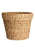 Large seagrass storage basket - Natural - Home All | H&M CN 2