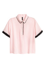 Viscose blouse - Light pink - Ladies | H&M CN 2