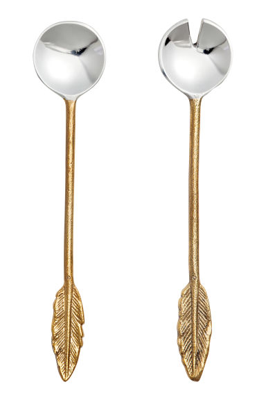 Metal salad servers - Gold/Silver - Home All | H&M CA 1