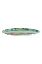 Round tray - Turquoise/Birds - Home All | H&M CN 1