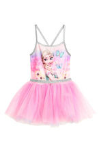 Dance dress with a tulle skirt - Pink/Frozen -  | H&M 2