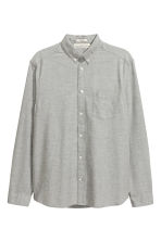 Oxford shirt - Light grey marl - Men | H&M 2