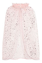 Metallic print cape  - Powder pink/Stars - Kids | H&M 2