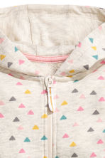 Sweatshirt all-in-one suit - Light beige marl -  | H&M 2