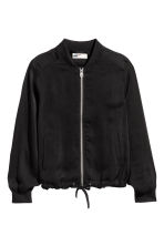 Light bomber jacket - Black - Kids | H&M 2