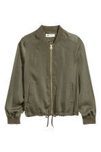 Light bomber jacket - Khaki green - Kids | H&M CN 2