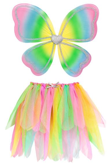 2-piece Fairy set - Pink - Kids | H&M 1