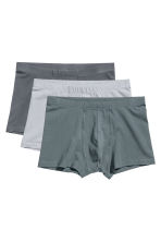 3-pack boxer shorts - Grey/Light grey - Men | H&M 2