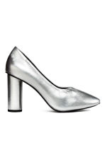 Court shoes - Silver - Ladies | H&M GB 2