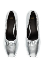 Court shoes - Silver - Ladies | H&M CN 3