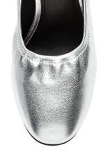 Court shoes - Silver - Ladies | H&M GB 4