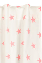 Star-print curtain length - White/Pink - Home All | H&M CN 2