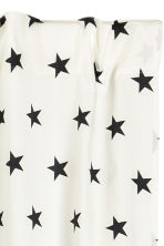 Star-print curtain length - White/Black - Home All | H&M CN 2