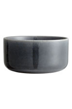 Small stoneware bowl - Dark grey - Home All | H&M CN 2