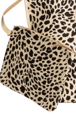 Shopper with a pouch - Leopard print - Ladies | H&M CA 5