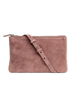 Suede bag - Vintage pink - Ladies | H&M CN 2