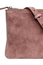Suede bag - Vintage pink - Ladies | H&M CN 4