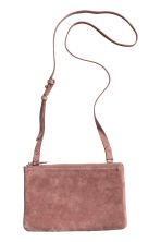 Suede bag - Vintage pink - Ladies | H&M CN 3