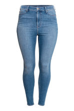 H&M+ Skinny High Jeans - Denim blue - Ladies | H&M CA 2