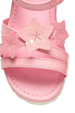 Patent sandals - Pink - Kids | H&M 4