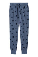 平紋睡褲 - Blue marl/Stars - Ladies | H&M 2