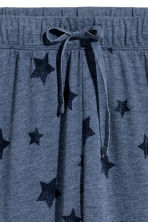 Jersey pyjama bottoms - Blue marl/Stars - Ladies | H&M 3