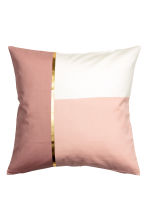 Housse de coussin color block - Rose ancien -  | H&M BE 2