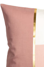 Housse de coussin color block - Rose ancien -  | H&M BE 3