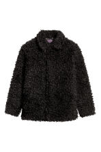 Faux fur jacket - Black - Men | H&M CN 2
