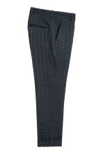 Striped suit trousers - Dark blue - Men | H&M CA 3