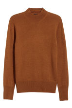 Cashmere-blend jumper - Dark camel - Men | H&M CN 2