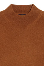 Cashmere-blend jumper - Dark camel - Men | H&M CN 3