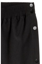 Trousers with press-studs - Black - Men | H&M CN 3