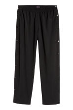 Trousers with press-studs - Black - Men | H&M CN 2
