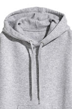 Hooded top - Grey marl - Ladies | H&M 3