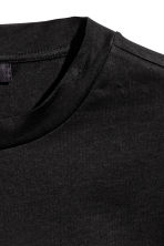 T-shirt with press-studs - Black - Men | H&M CN 3