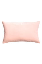 Velvet cushion cover - Light pink - Home All | H&M CN 1