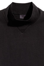 Turtleneck T-shirt - Black - Men | H&M CN 3