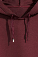 Hooded top - Burgundy - Men | H&M 3