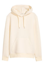 Hooded top - Natural white - Men | H&M 2