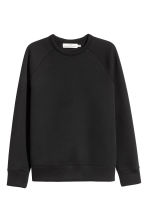 Scuba sweatshirt - Black - Men | H&M CN 2