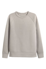 Scuba sweatshirt - Light mole - Men | H&M CN 2