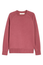 Scuba sweatshirt - Pale red - Men | H&M CN 2