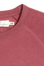 Scuba sweatshirt - Pale red - Men | H&M CN 3