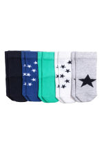 5-pack socks - Light grey/Star - Kids | H&M 2