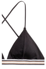 Triangle bikini top - Black - Ladies | H&M CA 4