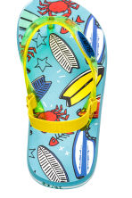 Flip-flops - Mint green/Surfboard - Kids | H&M 3