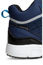 Waterproof hi-top trainers - Dark blue - Kids | H&M 4